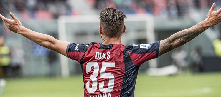 Ripresa degli allenamenti in vista di Lecce. Dijks toglie la fasciatura al piede: