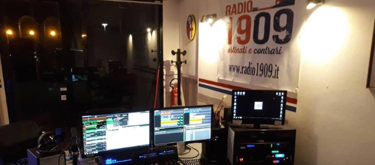 Da questa mattina Radio1909 è di nuovo online