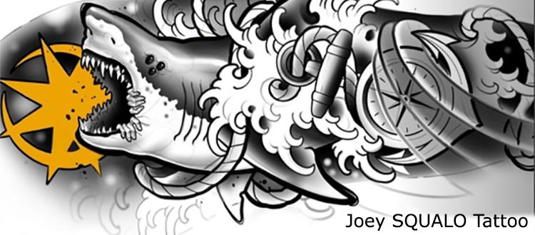 Joey Squalo Tattoo partner di Zerocinquantuno