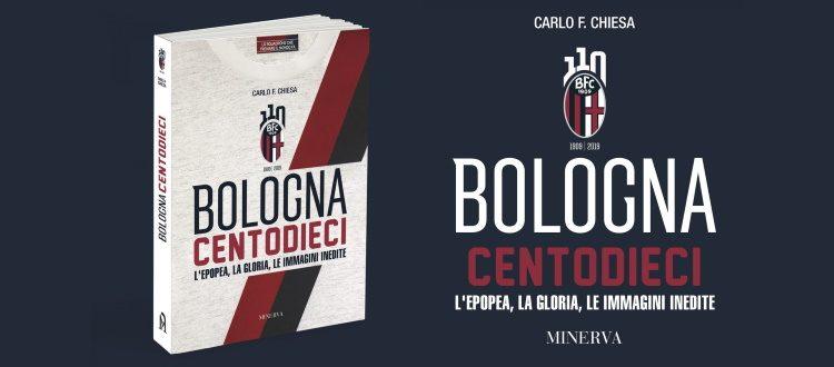 'Bologna Centodieci' presentato alla Feltrinelli, la vendita prosegue in libreria, online, al BFC Store del Dall'Ara e a Villa delle Rose