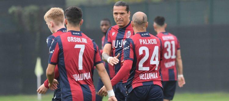 Finisce 2-2 l'amichevole mattutina contro l'Olimpija Ljubljana, per il Bologna in rete Palacio e Poli