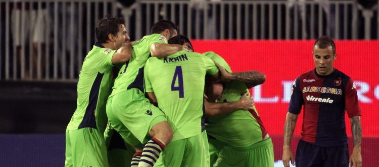 Il 30 ottobre 2013 l'ultima vittoria del Bologna a Cagliari, Mattiello unico ex della sfida