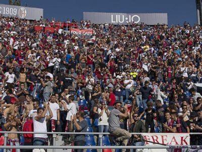 Boom di presenze al Dall'Ara per Bologna-Inter, già superata quota 26.000
