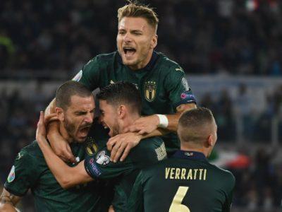 Mancini porta l'Italia agli Europei, decisivo il 2-0 dell'Olimpico sulla Grecia