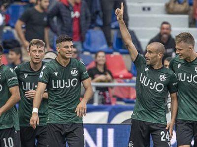 Gol, emozioni e spettacolo tra Bologna e Lazio, sotto gli occhi di Mihajlovic finisce 2-2