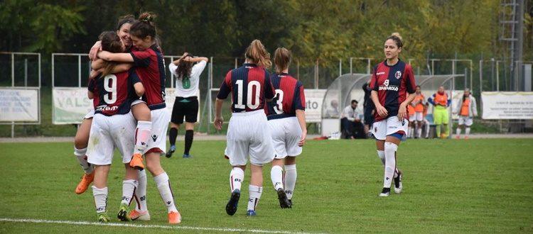 Il Bologna Femminile rialza la testa: 4-2 al San Miniato e primi punti in campionato