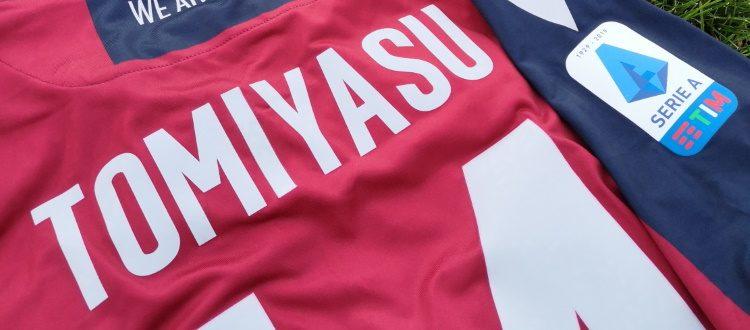 Si è conclusa l'asta su eBay per la maglia di Tomiyasu, l'intero ricavato devoluto a Bimbo Tu