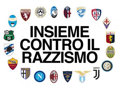 Lettera dei venti club di Serie A contro il razzismo: