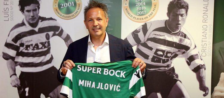 Il TAS dà ragione a Mihajlovic, Sporting Lisbona costretto a risarcirlo con 3 milioni di euro