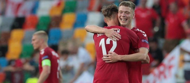 Skov Olsen colpisce ancora, prima del rientro a Bologna un altro gol con la Danimarca Under 21