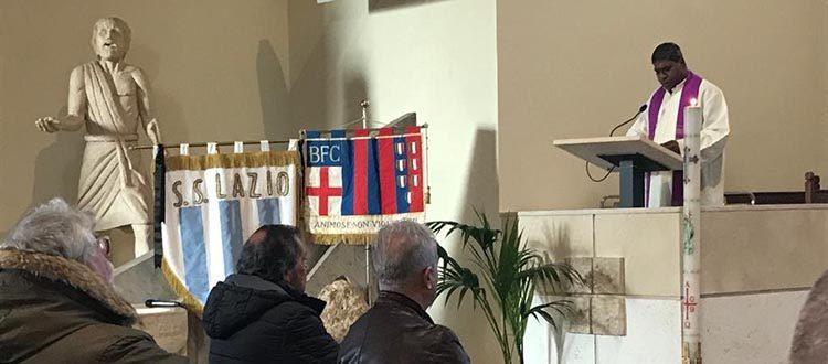 A Ciampino l'ultimo saluto a Franco Janich, presenti le delegazioni di Bologna e Lazio