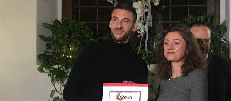 A Mattia Bani il Premio Internazionale Le Velo - L'Europa per lo sport
