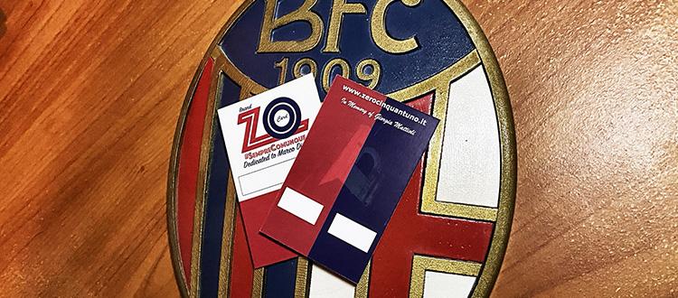 30 ZO Card per i giocatori e lo staff tecnico del Bologna, il generoso gesto di un utente di Zerocinquantuno