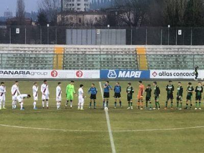 Bologna Primavera sconfitto 2-0 a Sassuolo, i rossoblù chiudono il girone d'andata al 12° posto