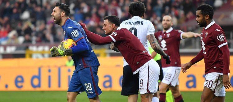 Il Bologna domina, il Torino vince: i rossoblù sprecano troppo, ai granata basta un guizzo di Berenguer