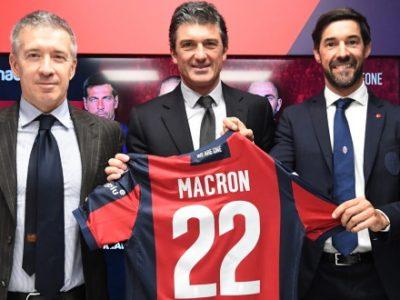 Macron e il Bologna annunciano il rinnovo fino al 2023 e presentano la linea vintage 'Passion Is Timeless'