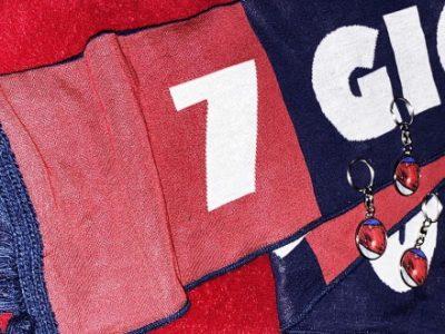 Se hai la ZO Card puoi vincere una sciarpa 'Forza Bologna 7 giorni su 7' e tre portachiavi a tinte rossoblù