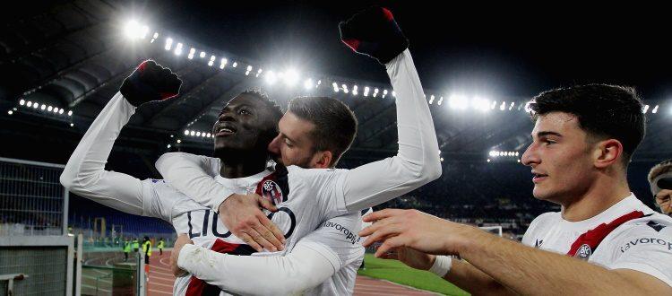 Così si gioca solo in Paradiso! Lezione di calcio del Bologna, Barrow e Orsolini stendono la Roma all'Olimpico: 2-3