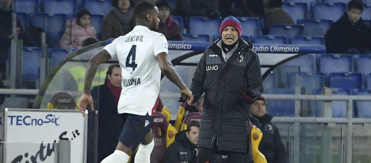 Bologna corsaro a Roma, per Mihajlovic è la vittoria numero 100 in Serie A da allenatore