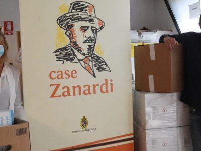 Dopo i generi alimentari, il Bologna dona mascherine e detergenti a Case Zanardi e Arca della Misericordia