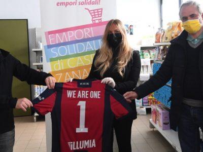 Il Bologna e i suoi partner uniti per una grande raccolta di generi di prima necessità
