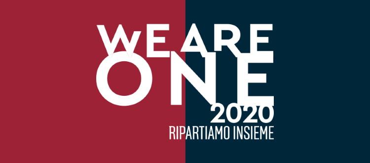 Il Bologna presenta la piattaforma solidale We Are One 2020 - Ripartiamo Insieme