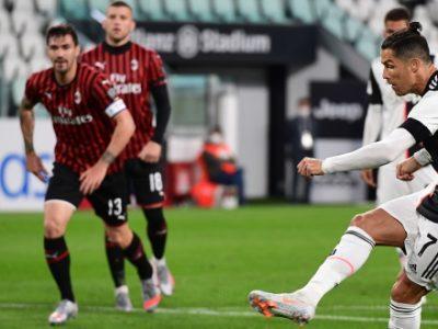 Il Milan ferma la Juve sullo 0-0 ma non basta, bianconeri in finale di Coppa Italia. Rigore fallito da CR7, espulso Rebic