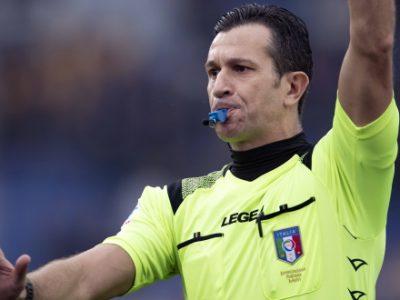 Sampdoria-Bologna a Daniele Doveri di Roma