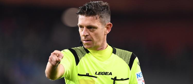 Bologna-Juventus a Gianluca Rocchi di Firenze