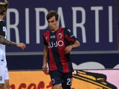 Esordio in Serie A e in maglia rossoblù per Cangiano, 912° giocatore nella storia del Bologna