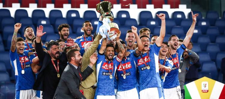 Il Napoli piega la Juventus ai rigori e vince la Coppa Italia, la corsa all'Europa League rischia di complicarsi
