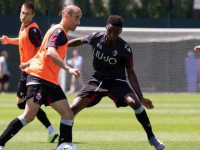 Tattica e prove di calci piazzati a due giorni da Sampdoria-Bologna