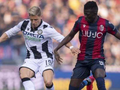 Bologna, non solo De Silvestri: per la fascia destra piace anche Stryger Larsen dell'Udinese