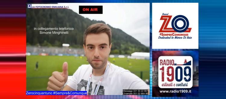 Su Radio1909, fino al termine del campionato, ZO si fa in cinque: appuntamento dal lunedì al venerdì nella fascia oraria 15-15:30