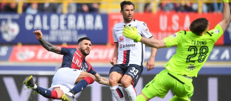 Bologna in vantaggio 15-6 sul Cagliari nei precedenti al Dall'Ara, 8 i pareggi. Nella scorsa stagione 2-0 con Pulgar e Soriano