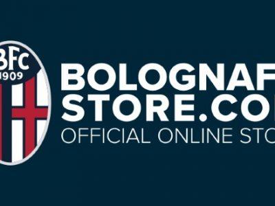 Nuova veste per lo store online del Bologna, sconto del 10% al momento della registrazione