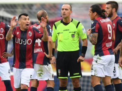 Inter-Bologna a Luca Pairetto di Nichelino