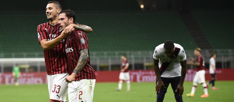 Tra turnover e prestazioni avvilenti, a San Siro va in scena il peggior Bologna della stagione: Milan sul velluto 5-1