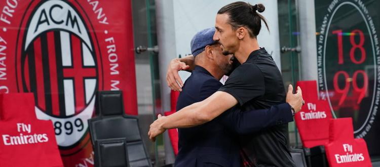 Giovedì sera a Sanremo Mihajlovic e Ibrahimovic canteranno 'Io vagabondo' dei Nomadi