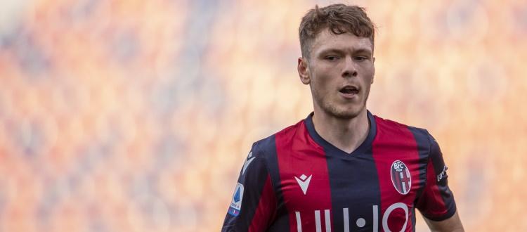 Il Bologna non intende cedere Skov Olsen, Mihajlovic e tutta l'area tecnica credono in lui