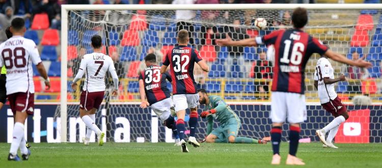 Bilancio favorevole al Bologna nelle sfide contro il Torino al Dall'Ara, l'ultimo precedente è un 2-2 acciuffato da Calabresi