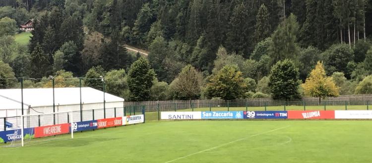 Allenamento in palestra per il Bologna: assenti i sei nazionali, in serata saliranno a Pinzolo altri sei giocatori