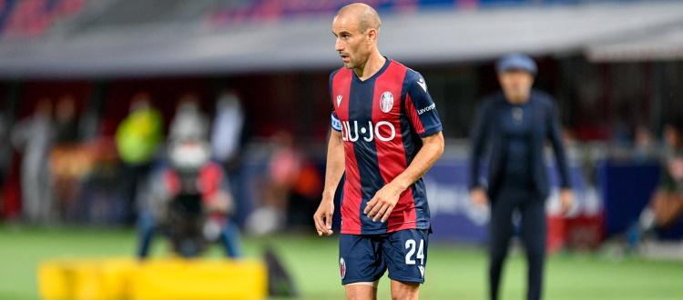 Bologna con solo 5 difensori a disposizione per il match contro il Torino, davanti rientra Palacio