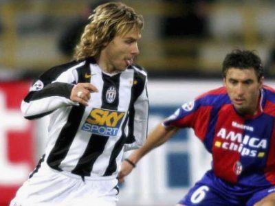Stagione 2004-2005: i primi segnali di Calciopoli, il crollo finale e la retrocessione in Serie B