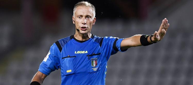 Parma-Bologna sarà diretta da Paolo Valeri di Roma