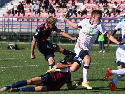 Due gol di Ruffo Luci non bastano al Bologna Primavera, il Cagliari acciuffa il 2-2 al 90'
