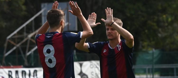 Nuovo successo per il Bologna Primavera di Zauri, regolato 3-1 il Chievo in TIM Cup