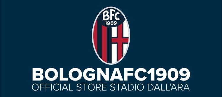 Ecco i nuovi orari del Bologna FC 1909 Official Store Stadio Dall'Ara