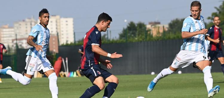 Bologna, gambe pesanti e poche idee: termina 0-0 il test di Casteldebole contro la Virtus Entella