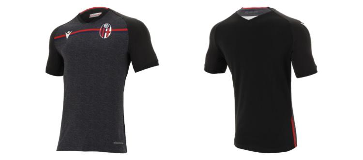 Bologna, ecco la terza maglia 2020-2021: è grigia e nera con inserti rossoblù